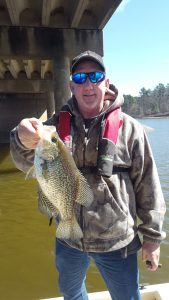crappie fishing report, bass fishing report, lake o the pines,